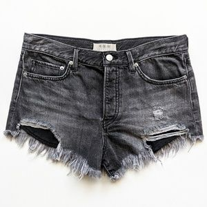 Free People Shorts - Free People Loving Good Vibrations Cutoff Shorts